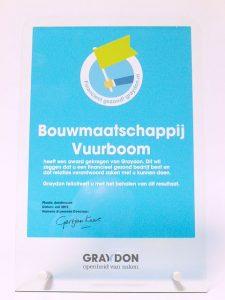 graydon award financieel gezond betrouwbaar